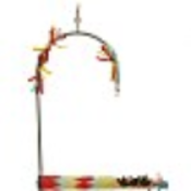 Forage 'N' Play Swing for Parrots - 3 Sizes