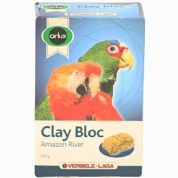 Natural Clay Mineral Block for Parrots