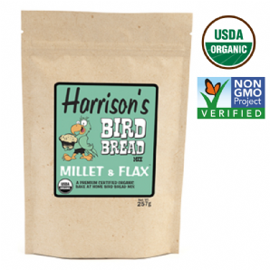 Bird Bread Mix - Millet and Flax 257g*