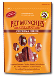 Chicken & Cheese Pet Munchies