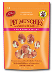 Chicken Dumbbells Pet Munchies