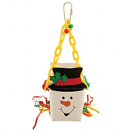 Christmas Snowman Foraging Toy