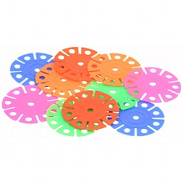 Colourful Plastic Discs