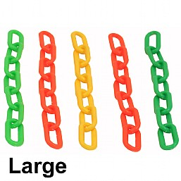 Colourful Plastic Links