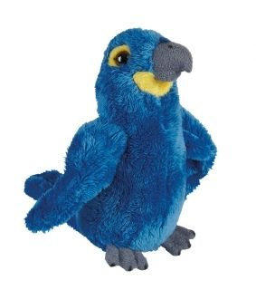 Hyacinth Macaw Soft Toy
