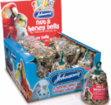 Nut & Honey Bells for Cockatiels, Parrots etc