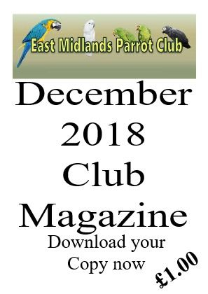 Parrot Club Magazine December 2018 Christmas Issue