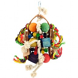 Preening Party Hanging Toy