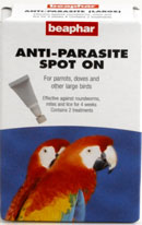 SPOT ON ANTI-PARASITE for Large Birds